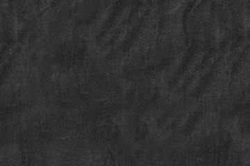 Texture black fabric with pleats