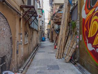 Hong Kong alley.