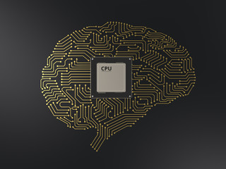 cpu ai brain