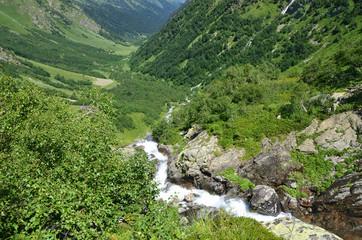 Россия, Западный Кавказ, русло реки Имеретинка