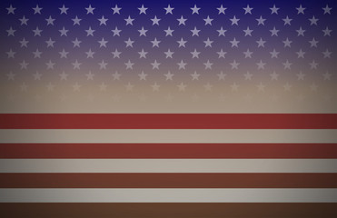 USA flag abstract background vector - perfect for national holidays designs