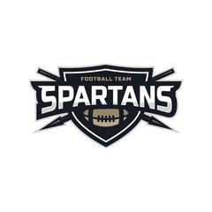 Modern professional football logo for sport team