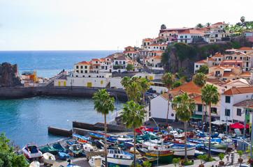 Camara de Lobos village - Madeira island, Portugal