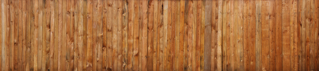 Poster Wood Brown wood plank wall texture background