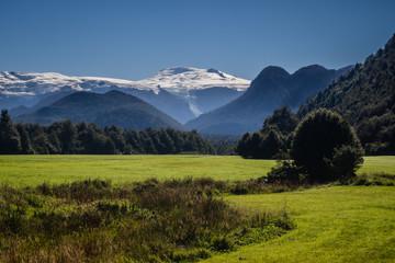 Landsacpe in chilean Patagonia