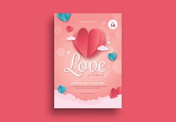 Valentine Party Flyer 2