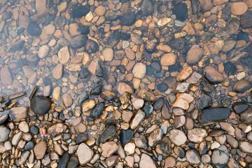 Rocks in the River Kwai, Kanchanaburi, Thailand