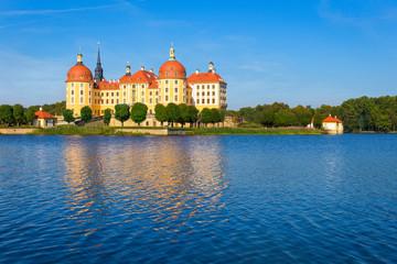 Castle Moritzburg near Dresden in Saxony, Germany
