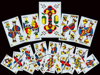 SCHWEIZ - Spielkarten zum JASSEN
