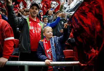 Carabao Cup Semi Final Second Leg - Bristol City vs Manchester City