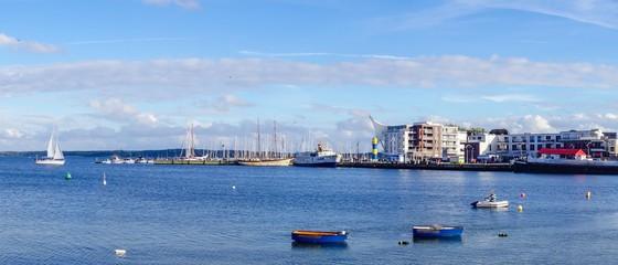 Panorama Hafen Eckernförde