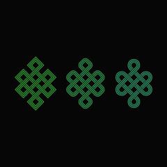 Endless Knot Ancient Symbol