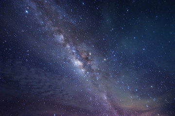 deep sky objects and Milky way. Soft focus, blur, noise, and grains due to long expose and high iso.