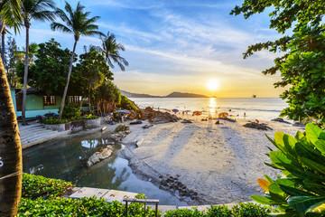 Landscape of Phuket. Located in Patong Beach, Phuket, Thailand.