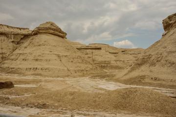 tiefes von der Erosion eingegrabenes Tal