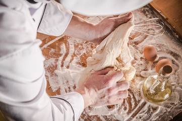 Bread Dough Making