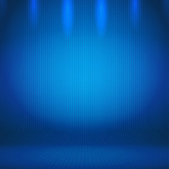 Abstract Gradient Background Blue