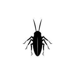 cockroach icon. Elements of world of insects icon for concept and web apps. Illustration  icon for website design and development, app development. Premium icon