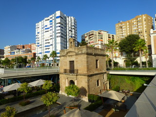 Torre de Málaga, ciudad de Andalucía en España perteneciente a la Costa del Sol, zona turistica por excelencia