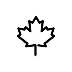 Canadian Leaf Logo Icon