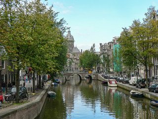 Amsterdam, Netherlands (natural and simple)