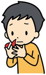 子供の鼻血