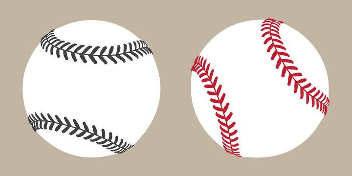 baseball vector ball icon soft ball tennis illustration character