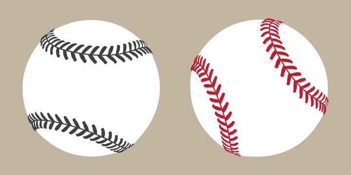 baseball vector ball icon soft ball tennis illustration character