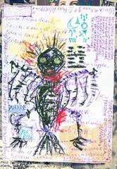 Deurstickers Imagination Wuthering Heights. Schizzi e bozzetti macabri,esoterici e bizzarri