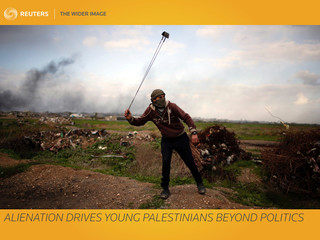 The Wider Image: Alienation drives young Palestinians beyond politics