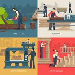 Wood Works Design Concept