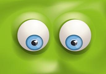 yeux - regard - expression - œil - regarder - humour - vers le bas - visage - expressif