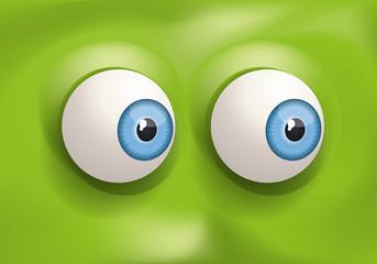 yeux - regard - expression - œil - regarder - humour - vers le coté - visage - expressif