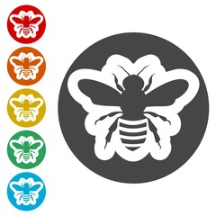 Bee Silhouette icon