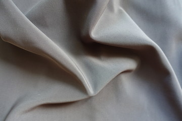 Crumpled dark grey viscose, cotton and polyester fabric Fototapete