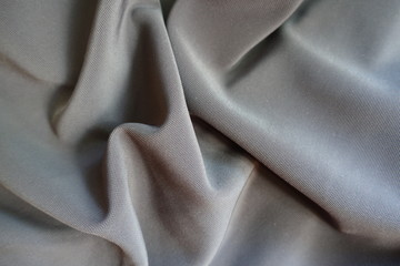 Jammed dark grey viscose, cotton and polyester fabric Fototapete