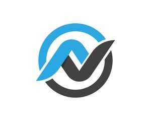 N Letter Logos Template