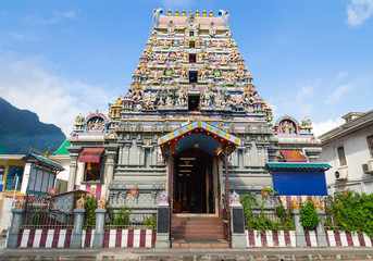 Arul Mihu Navasakthi Vinayagar Tempel Victoria Mahe Seychellen