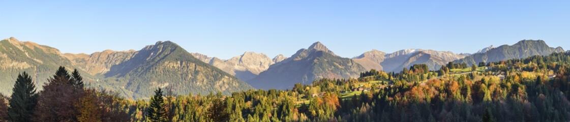 Spätherbst in den Allgäuer Alpen am Söllereck