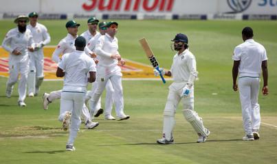 India v South Africa - Third Test match