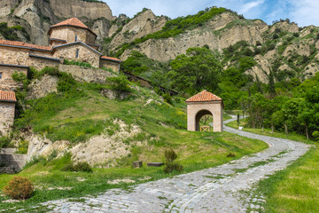 Shiomghvime Monastery Complex, near Mtskheta and Tbilisi, Georgia, Eastern Europe.