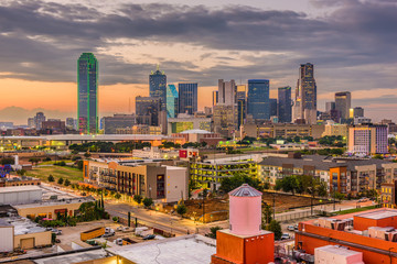 Dallas, Texas, USA Skyline