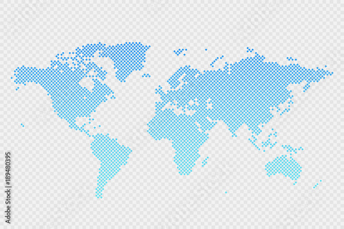 Vector world map infographic symbol on transparent background vector world map infographic symbol on transparent background international rhombus illustration sign blue gradient gumiabroncs Gallery