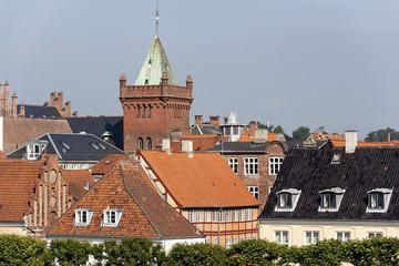 Houses in Helsingor Denmark