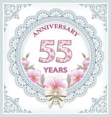 Anniversary 55 years