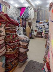 Marrakesch Marokko Medina Teppichhandel