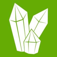 Diamonds icon green