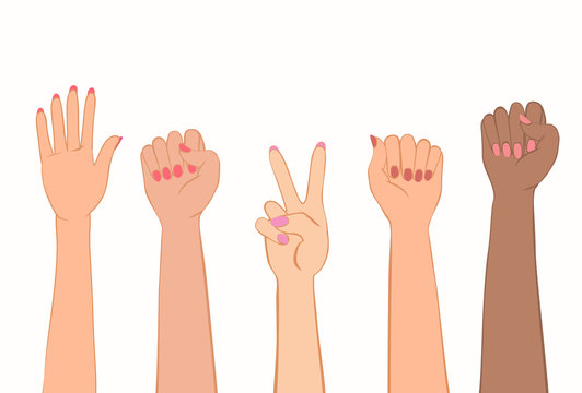 Symbol of women protest.