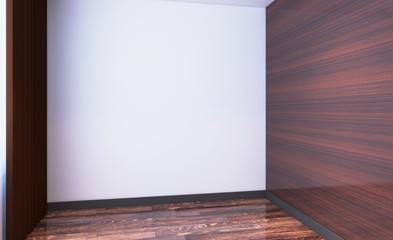Modern Empty  office Cabinet. Meeting room. 3D rendering.