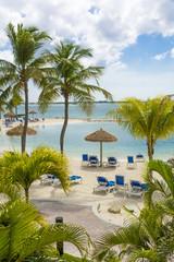 Aruba island, Caribbean sea